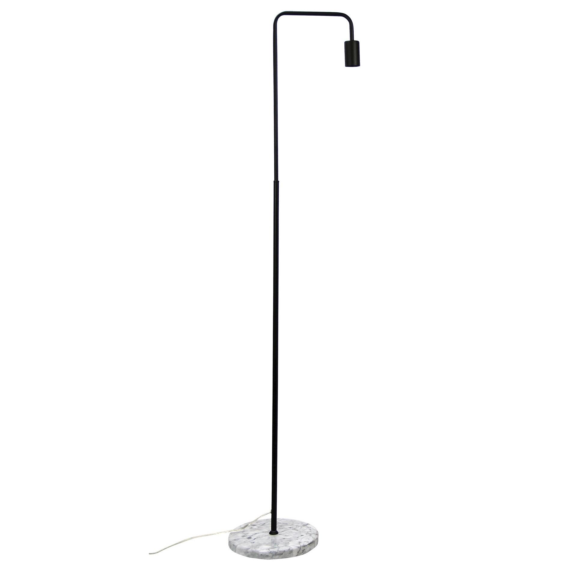 Ville Marble & Metal Floor Lamp