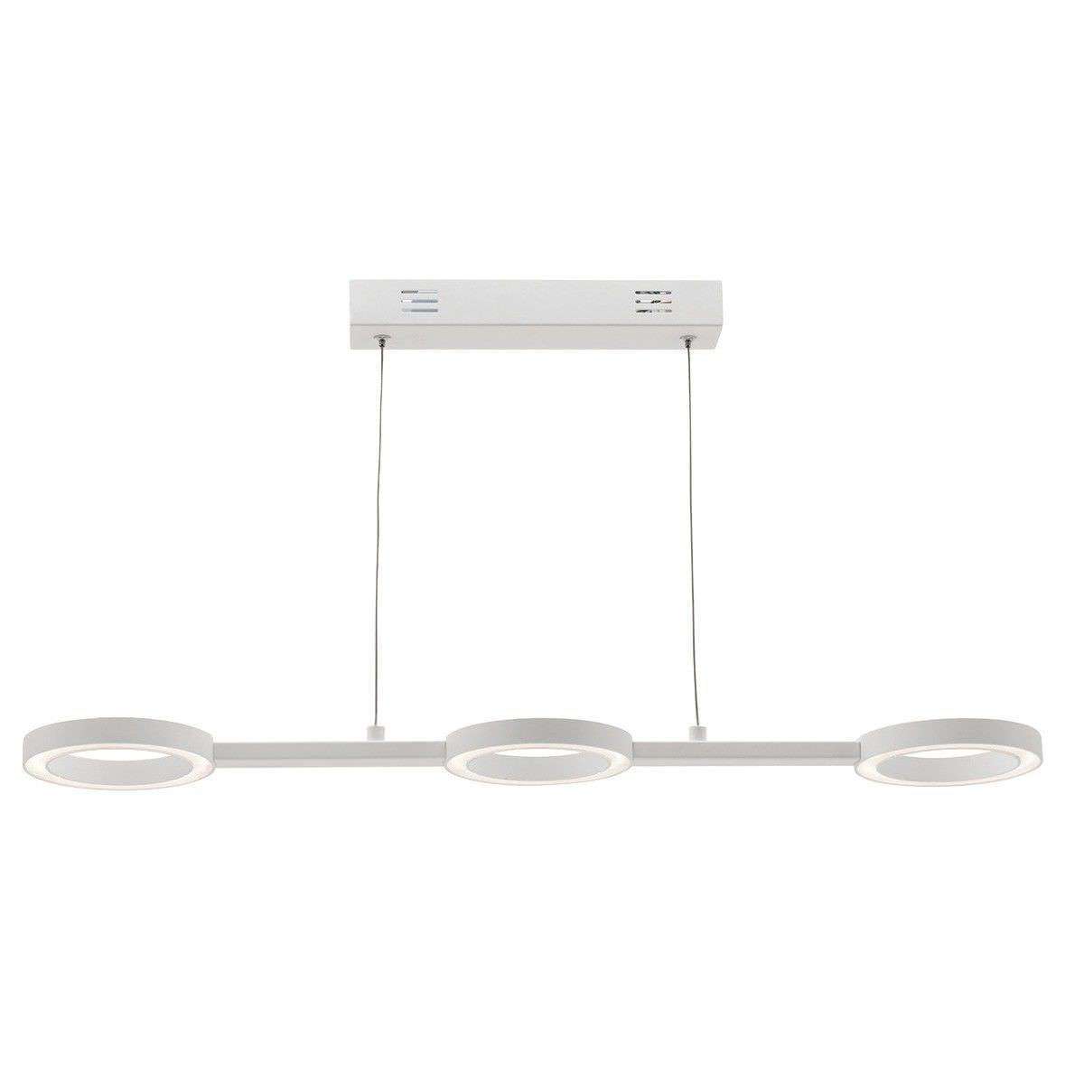 Omega Aluminium 3 Ring LED Pendant Light
