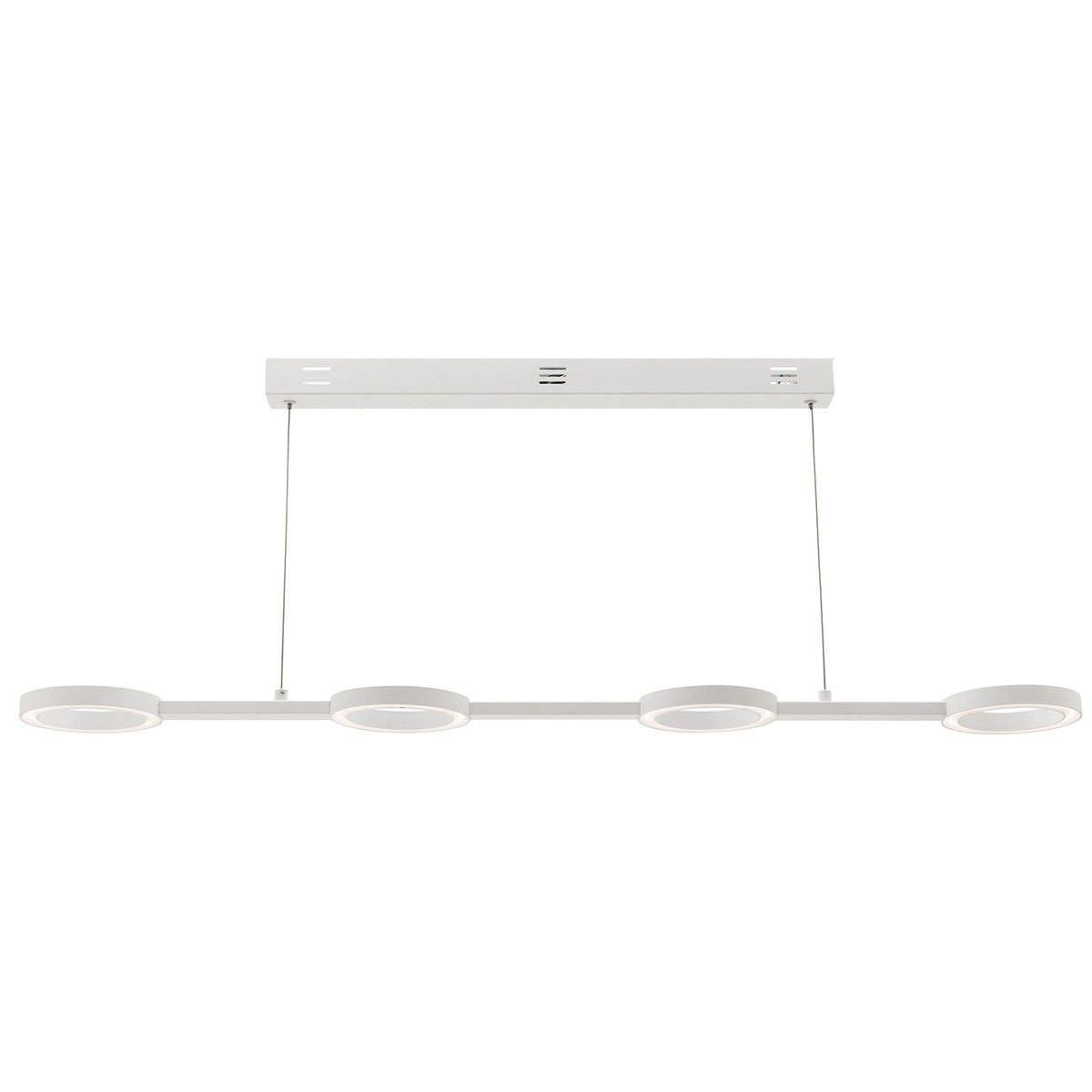 Omega Aluminium 4 Ring LED Pendant Light