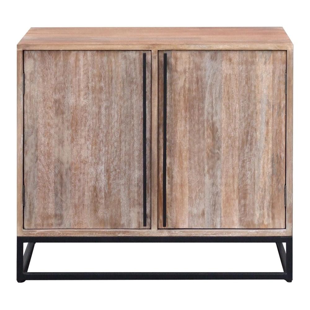Pontons Mango Wood 2 Door Sideboard 90cm