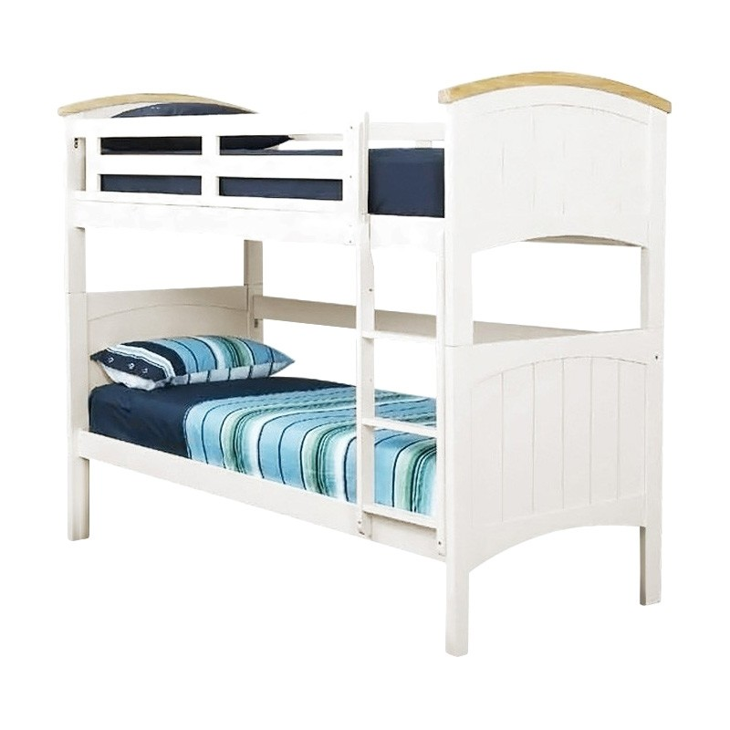 Ranch Wooden King Single Bunk Bed
