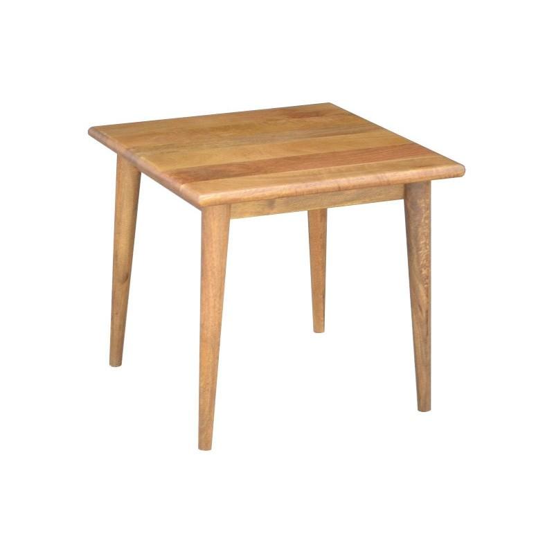 Stuart Solid Mango Wood Timber Side Table