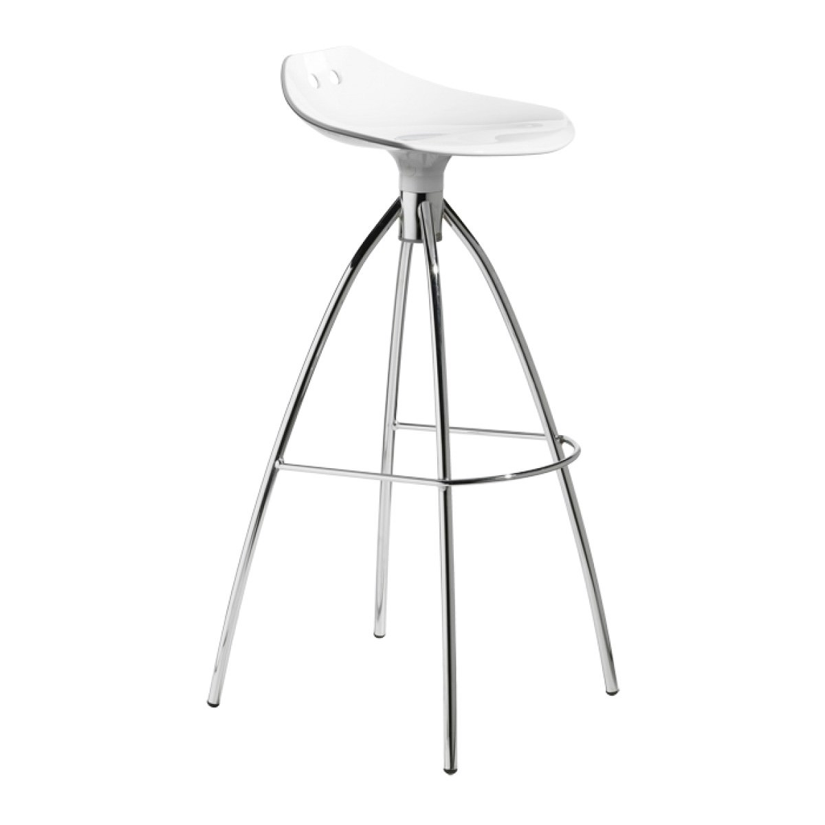 Frog Commercial Grade Counter Stool, White