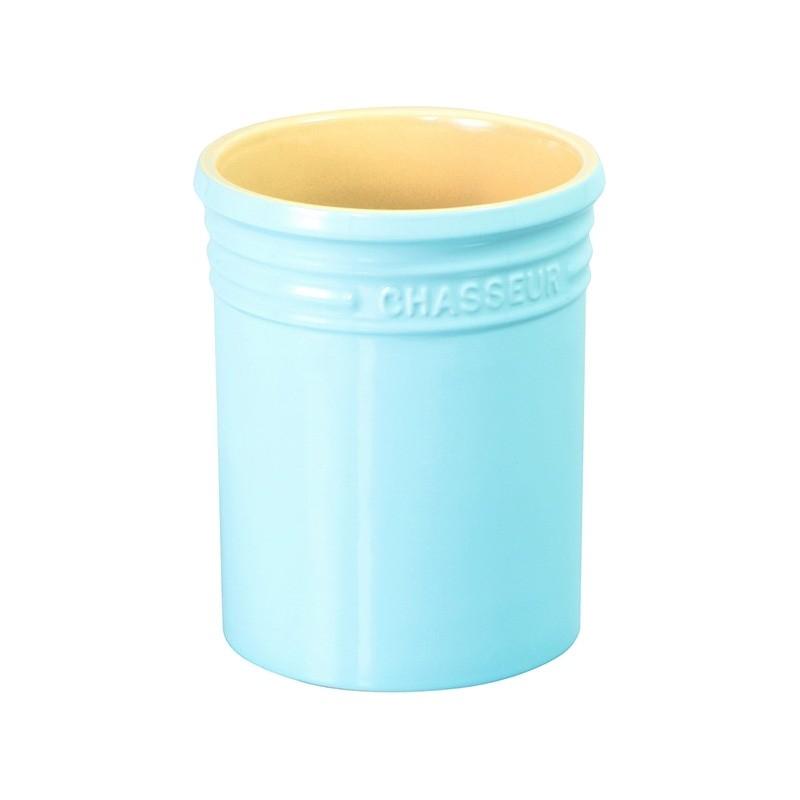 Chasseur La Cuisson Utensil Jar - Duck Egg Blue