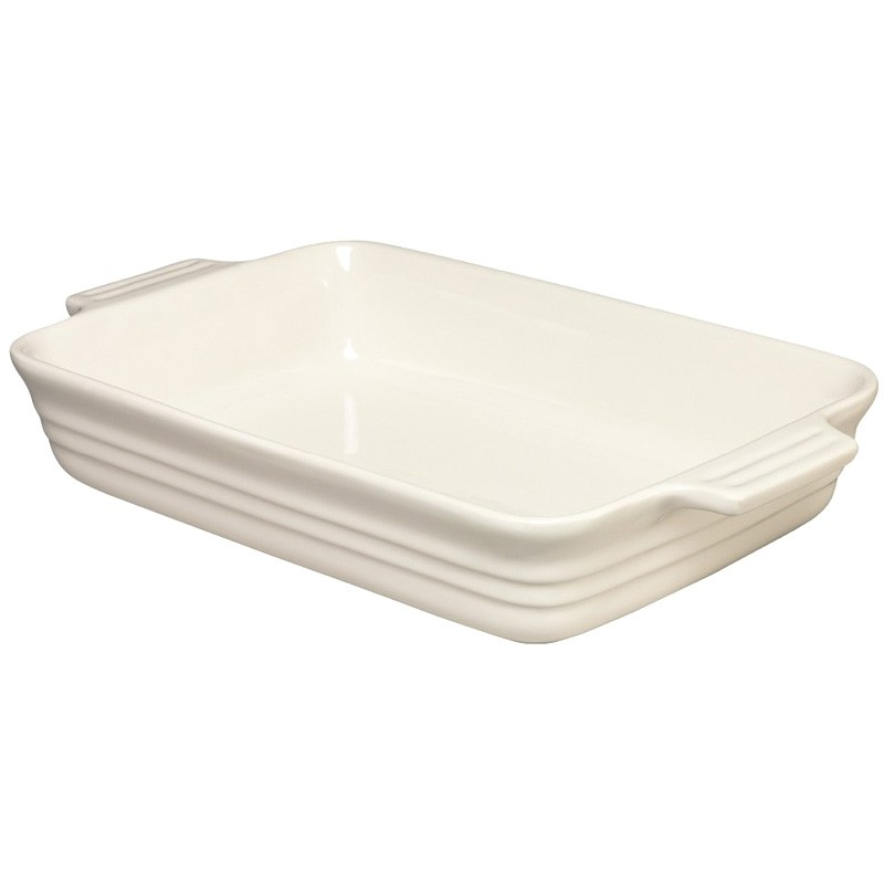 Chasseur La Cuisson 32x24cm Rectangular Baking Dish - Antique Cream