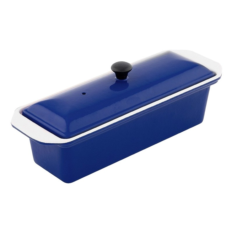 Chasseur Cast Iron Terrine, 28cm, French Blue