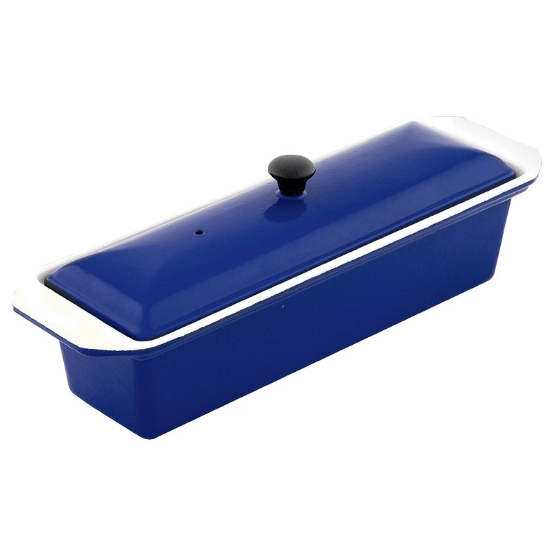Chasseur Cast Iron Terrine, 32cm, French Blue