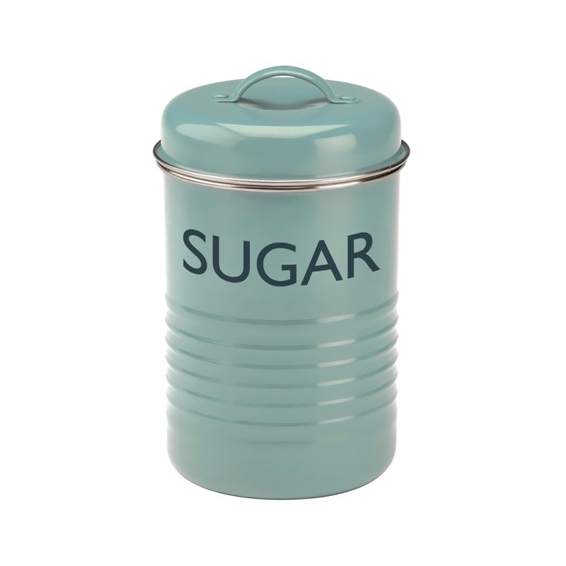 Typhoon Vintage Kitchen Sugar Canister - Blue