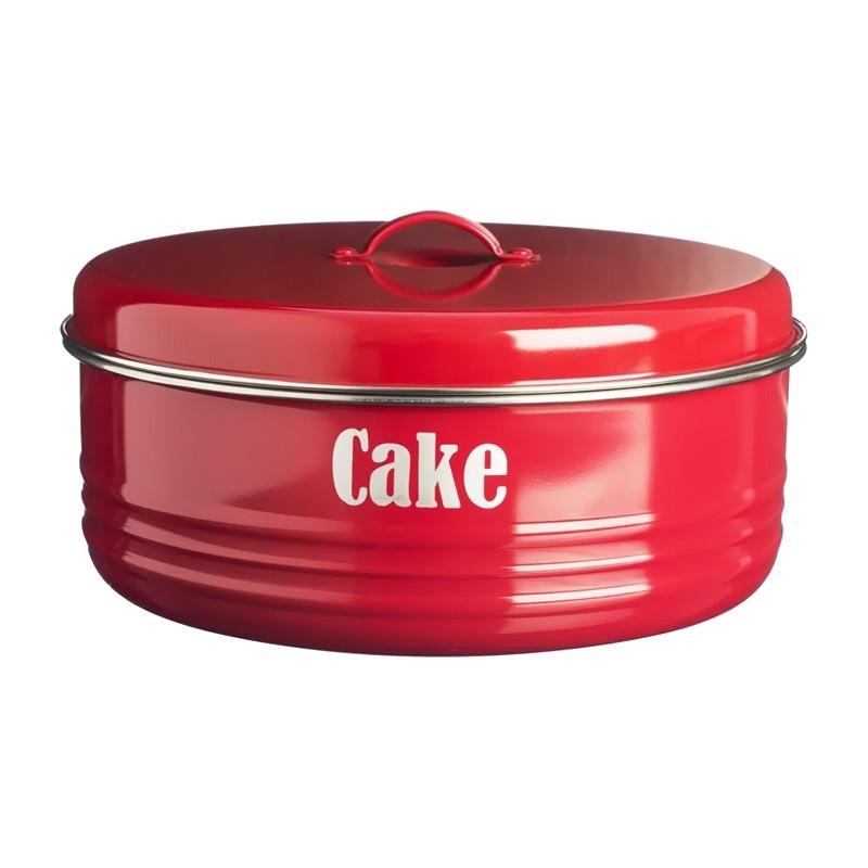 Typhoon Vintage Kitchen Cake Tin - Red