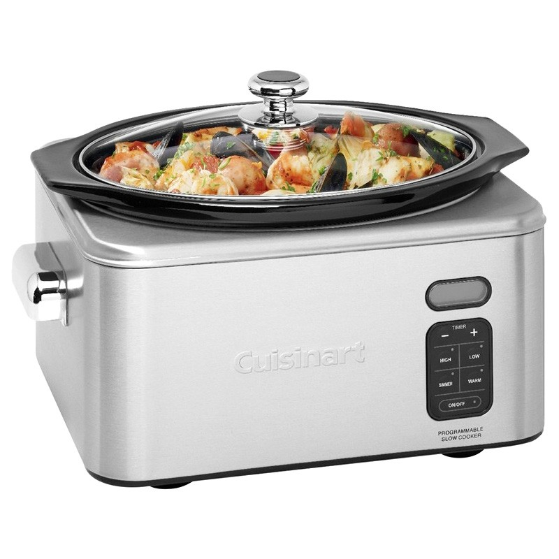 Cuisinart 6.5 Litre Programmable Slow Cooker