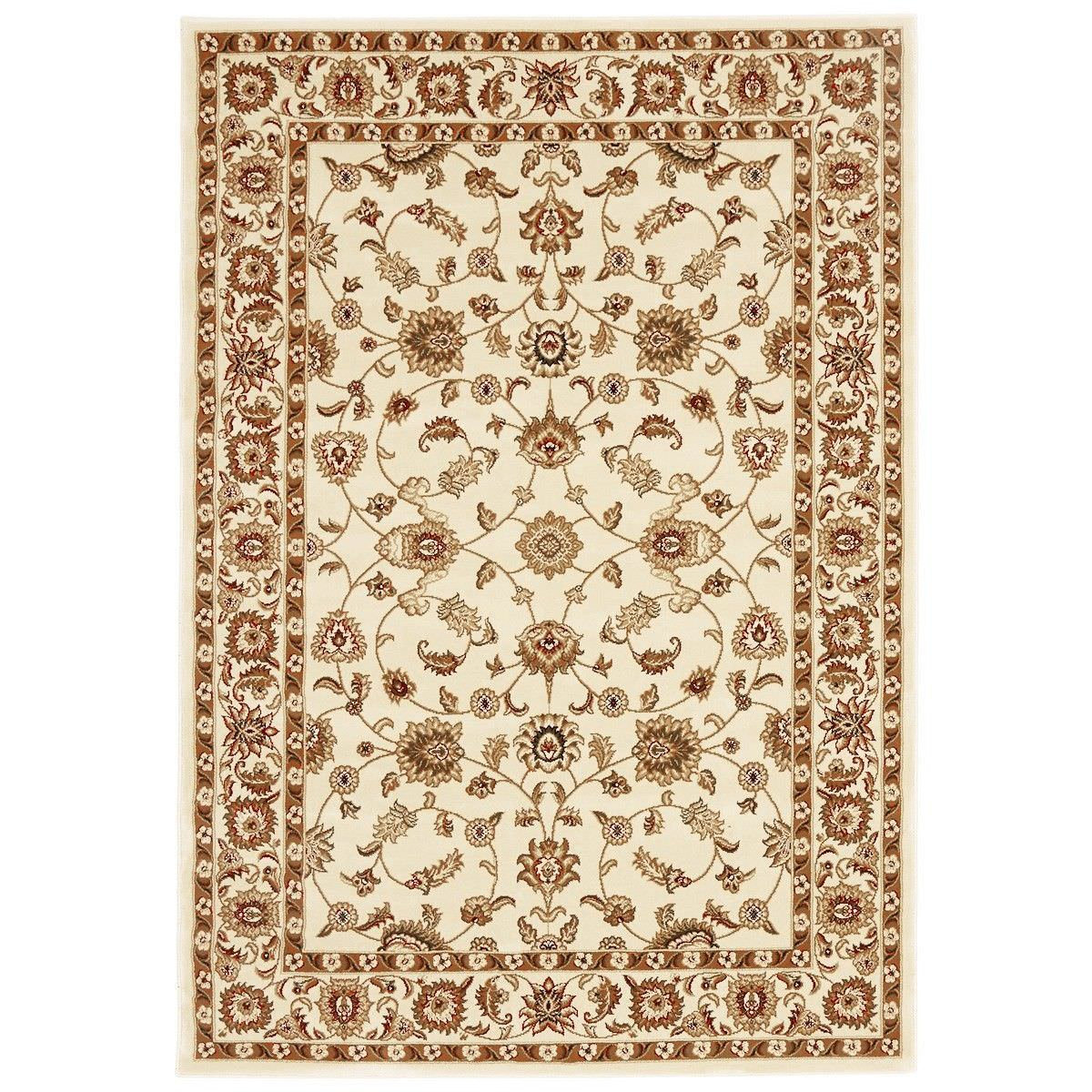 Sydney Classic Turkish Made Oriental Rug, 400x300cm, Ivory