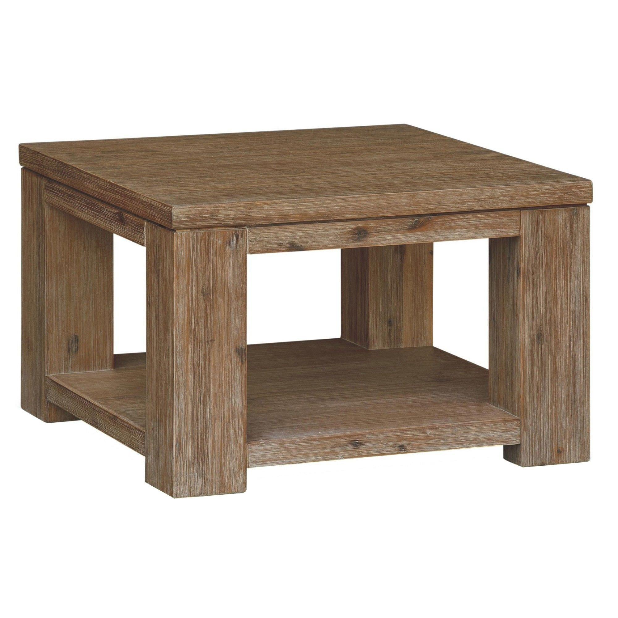 Ashton Solid Acacia Timber Lamp Table
