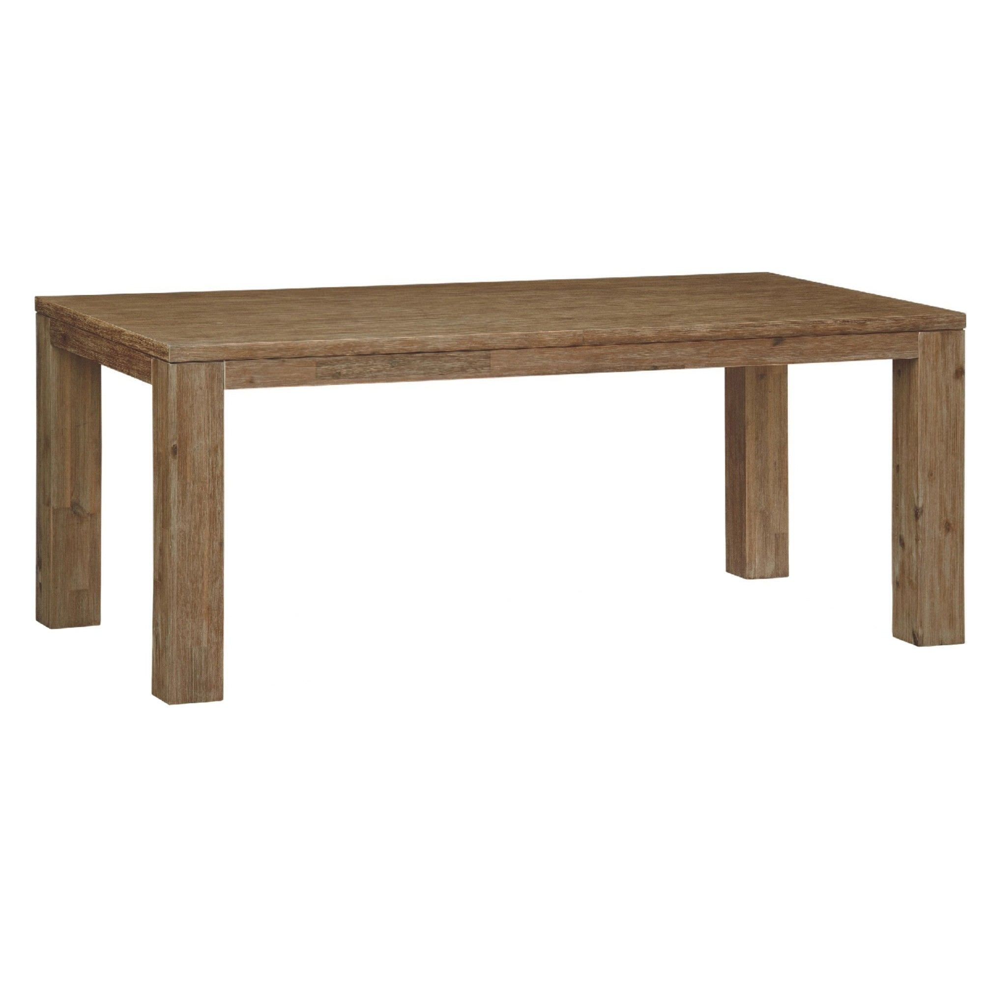 Ashton Solid Acacia Timber 220cm Dining Table