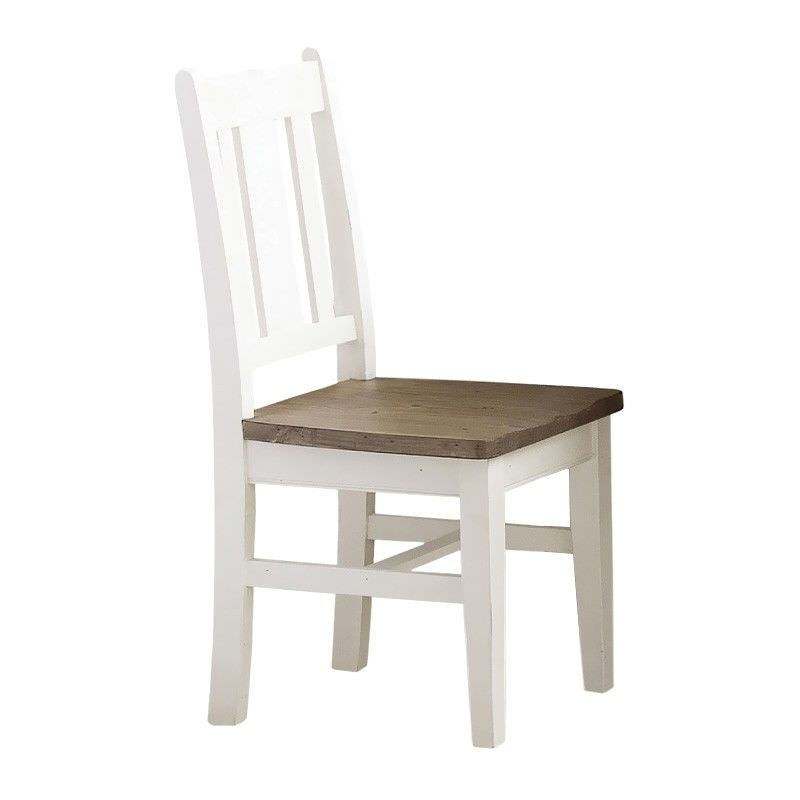 White Haven Solid Pine Timber Dining Chair