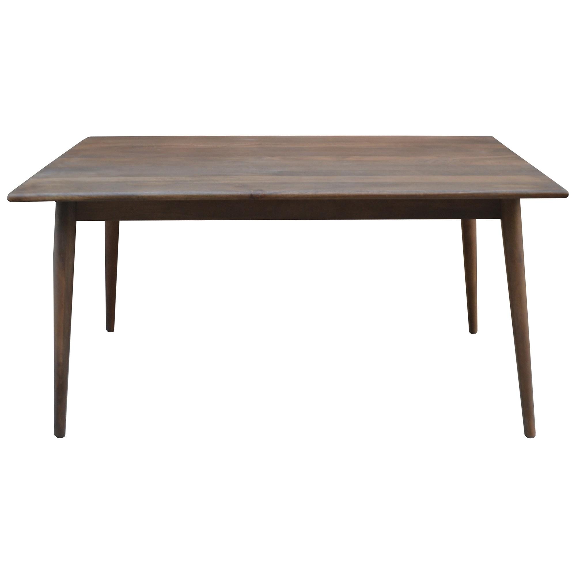 Stuart Solid Mango Wood Timber 150cm Dining Table
