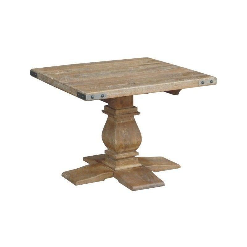 Oatley Mango Wood Lamp Table, Honey Wash
