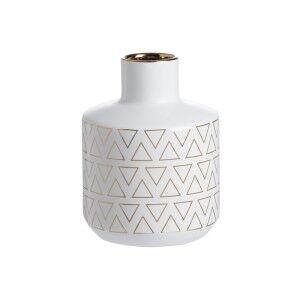 Geo Ceramic Vase, Small