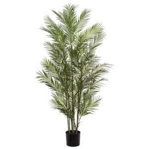 Potted Artificial Phoenix Palm Tree, 183cm