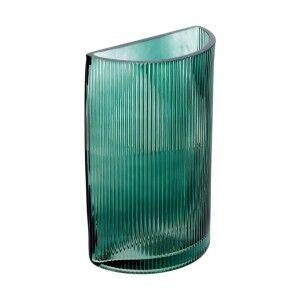 Corona Ribbed Glass Vase