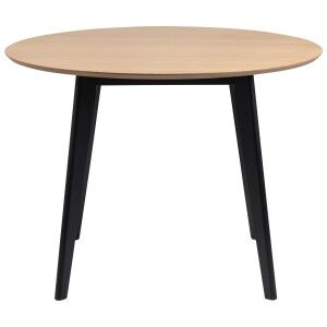 Dalla Timber Round Dining Table, 105cm