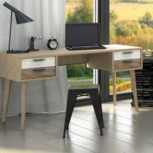 Clooney Acacia Timber Desk