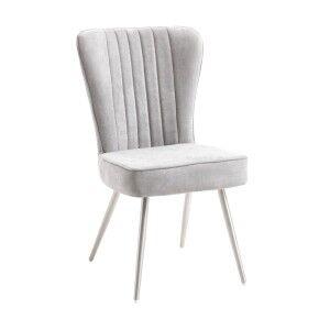 Melissa Fabirc Dining Chair, Grey