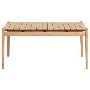 Lomond Eucalyptus Timber Alfresco Dining Table, 160cm