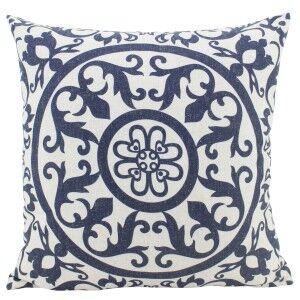 Hamptons Linen Scatter Cushion, Navy