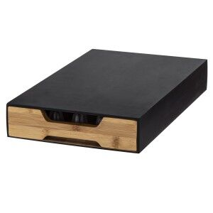 Davis & Waddell Essence Bamboo Coffee Board with Pod Drawer