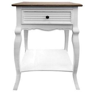 Urville 2 Tone Bedside Table