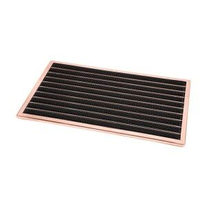 Fllyn Stainless Steel Door Mat, Copper