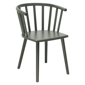 Malmo Wooden Dining Chair, Moss Green