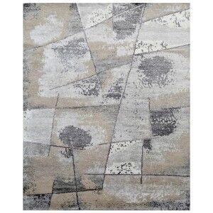 Malvern Hand Knotted Wool & Bamboo Silk Rug, 299x247cm