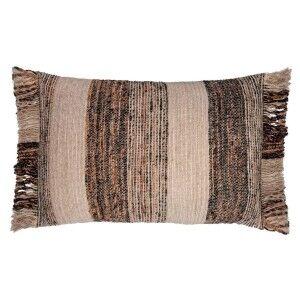 Cascade Feather Filled Cotton Lumbar Cushion