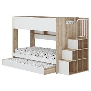 Cruz Bunk Bed with Trundle, Single