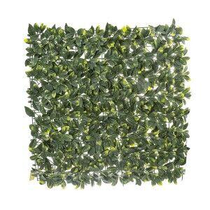 Artificial Laurel Leaf Wall Mat, 100cm