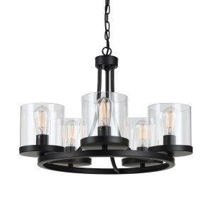 Largo Metal Pendant Light / Chandelier, Small