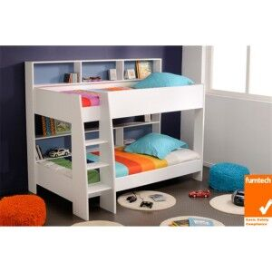 Latitude Bunk Bed, King Single, White