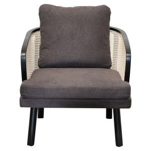 Ruottala Fabric & Wood Armchair