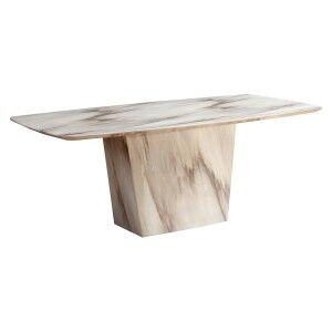 Shelburne Marble Dining Table, 200cm