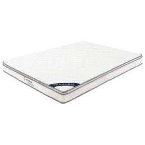 Florence Bonnell Spring Medium Mattress with Pillow Top, Queen