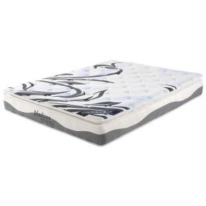 Madison Pocket Spring Firm Mattress with Pillow Top, Queen