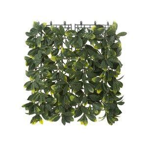 Artificial Laurel Leaf Wall Mat, 50cm