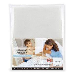 Abercrombie & Ferguson Waterproof Anti-Allergy Microfibre Mattress Protector, Single