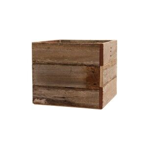 Northwood Rusic Timber Box Planter, Large