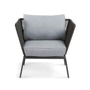 Liosia Rope & Steel Lounge Armchair