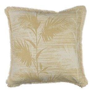 Bahama Leaf Cotton Scatter Cushion