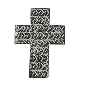 Saxon Cement Fibre Cross Wall Decor