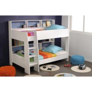 Latitude Bunk Bed, Single, White