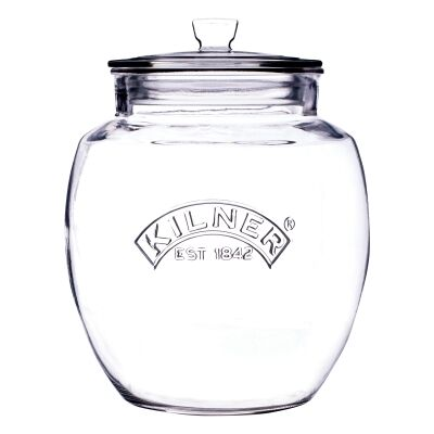 Kilner Universal Push Top Storage Jar - 4 Litre
